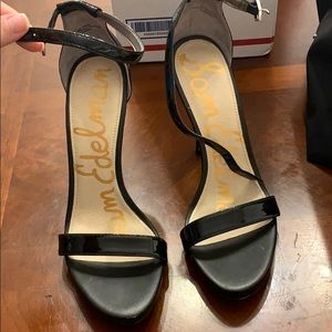 Sam Edelman ankle strap heels